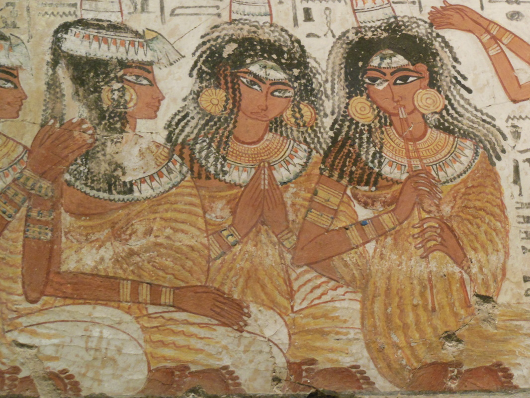 Ancient egypt fashion history maymester in london for Ancient egyptian mural paintings